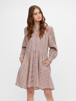 YAS - YASSIRELIA DRESS  - Vestido camisero - eggnog/sirelia