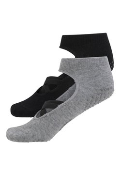 OYSHO - 2ER-PACK  - Sportsocken - black
