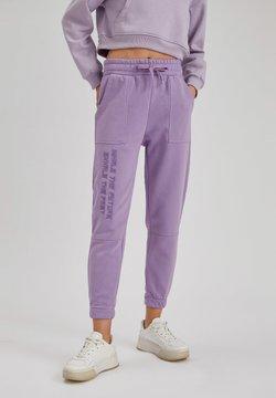DeFacto - Jogginghose - purple