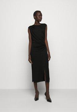 DESIGNERS REMIX - MODENA PLEAT DRESS - Etuikjoler - black
