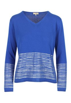 A ka so - Strickpullover - saphire blue