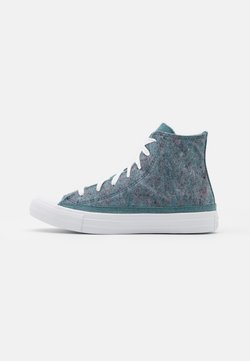 Converse - CHUCK TAYLOR ALL STAR RENEW UNISEX - Sneakersy wysokie - lakeside blue/powder green/white