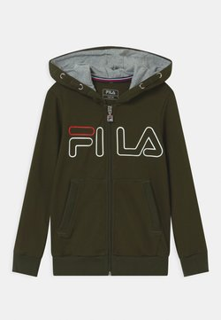 Fila - WILLIAM UNISEX - Bluza rozpinana - forest night