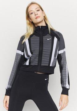 Nike Performance - Verryttelytakki - black/white/metallic silver