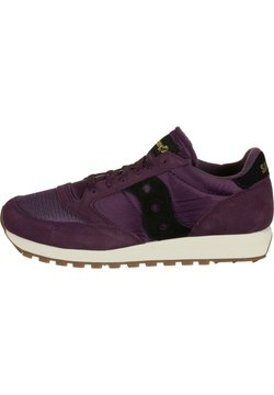 Saucony - JAZZ ORIGINAL VINTAGE - Sneakers laag - blkberry/black