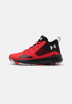 Under Armour - LOCKDOWN 5 UNISEX - Koripallokengät - versa red