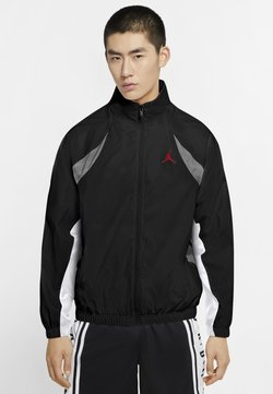Jordan - Übergangsjacke - black/university red