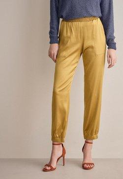 Falconeri - Stoffhose - gelb - 8569 - duna
