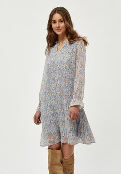Minus - Vapaa-ajan mekko - dusty blue flower print