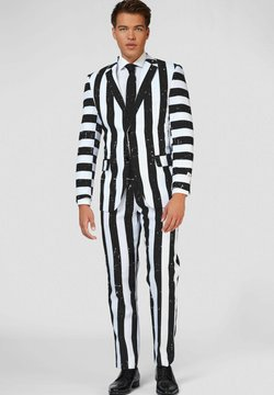 OppoSuits - BEETLEJUICE - Anzug - black, white