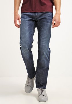 BOSS ATHLEISURE - MAINE - Straight leg jeans - navy