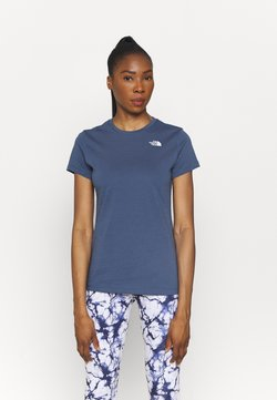 The North Face - SIMPLE DOME TEE - T-shirt - bas - vintage indigo