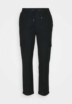 Marc O'Polo DENIM - COSY CARGO JOGG PANTS - Spodnie materiałowe - black