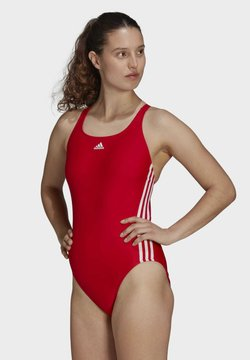 adidas Performance - SH3.RO CLASSIC 3-STRIPES SWIMSUIT - Badeanzug - red