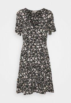 Esprit - FRILLS - Jerseykjole - black