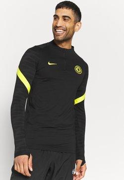 Nike Performance - CHELSEA LONDON  - Pelipaita - black/opti yellow/opti yellow