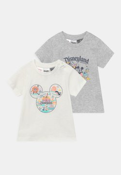 Cotton On - JAMIE SHORT SLEEVE TEE 2 PACK UNISEX - T-shirt con stampa - multi-coloured