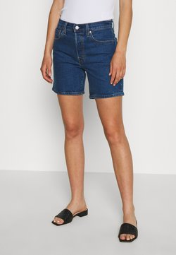 Levi's® - 501® MID THIGH - Denim shorts - charleston shadow