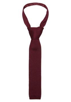 Twisted Tailor - JAGGER - Krawatte - dark burgundy