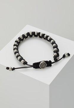 Diesel - STACKABLES - Bracelet - schwarz