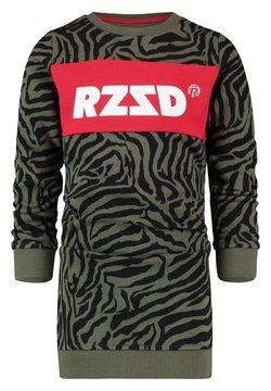 RAIZZED - DUBLIN - Freizeitkleid - army zebra