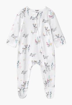Cotton On - DISNEY BAMBI LONG SLEEVE ZIP UNISEX - Pijama de bebé - white