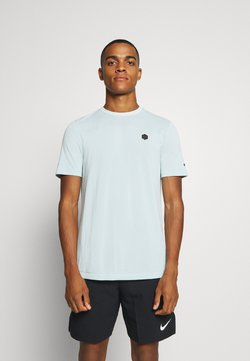 Under Armour - RUSH SEAMLESS FITTED - Sports shirt - enamel blue