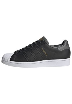 adidas Originals - SUPERSTAR - Sneakers laag - black