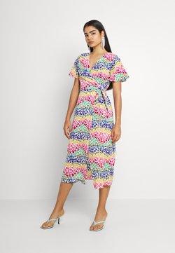 Never Fully Dressed - LUCIA RAINBOW WRAP DRESS - Maxikleid - multi