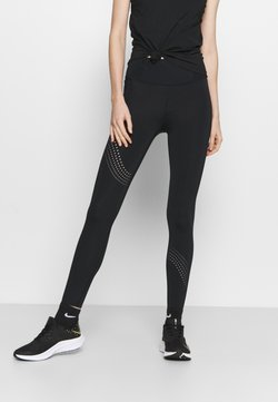 Under Armour - SPEED POCKET ANKLE  - Tights - black