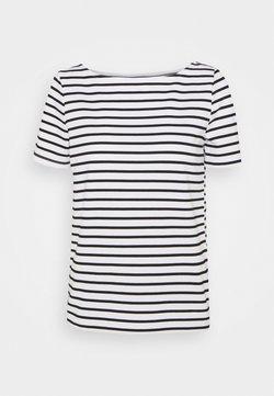 Pieces - PCINGRID - T-Shirt print - bright white/black