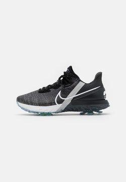 Nike Golf - AIR ZOOM INFINITY TOUR WIDE FIT - Golfschuh - black/white/off noir/metallic platinum