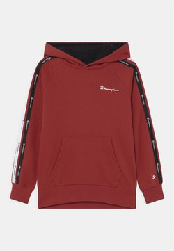 Champion - LEGACY AMERICAN TAPE HOODED UNISEX - Luvtröja - red