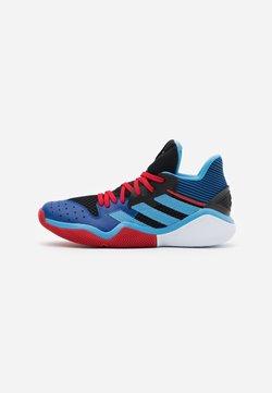 adidas Performance - HARDEN STEPBACK - Indoorskor - core black/team light blue/collegiate royal