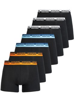 INDICODE JEANS - 7 PACK - Shorty - black