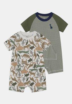 Carter's - ANIMAL 2 PACK - Combinaison - khaki