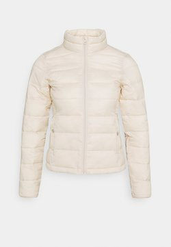 ONLY Petite - ONLSANDIE QUILTED JACKET - Bomber Jacket - tapioca