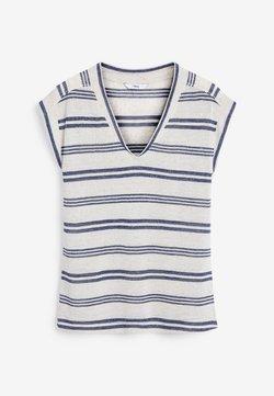 Next - T-Shirt print - dark blue
