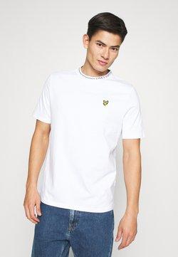 Lyle & Scott - BRANDED RINGER - T-shirt basic - white