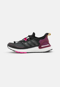 adidas Performance - ULTRABOOST COLD.RDY PRIMEKNIT RUNNING SHOES - Laufschuh Neutral - core black/iron metallic/power berry