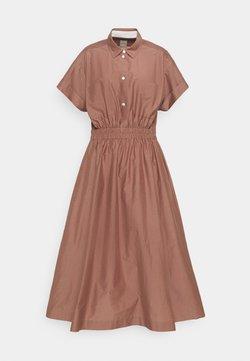 Paul Smith - WOMENS DRESS - Blusenkleid - brown