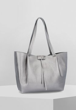 Patrizia Pepe - BORSA  - Shopping Bag - winter silver