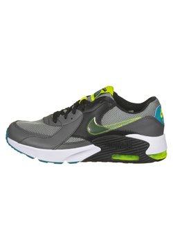 Nike Performance - AIR MAX EXCEE POWER UP - Matalavartiset tennarit - particle grey / cyber / iron grey / black