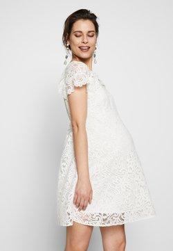 ATTESA - PIZZO - Vestido informal - white