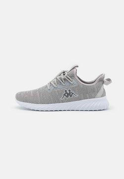 Kappa - CAPILOT UNISEX - Zapatillas de entrenamiento - grey/white