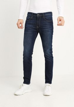 Petrol Industries - THRUXTON - Jeans Tapered Fit - dark-blue denim