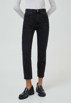 PULL&BEAR - MOM - Jeans relaxed fit - black