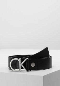 Calvin Klein - LOGO BELT - Pasek - black