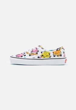 Vans - AUTHENTIC UNISEX - Sneakers basse - white/multicolor