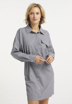 usha - Vestido camisero - grau
